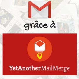 TUTO: envoyer des mails collectifs personnalisés directement dans GMail