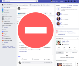 facebook perte temps